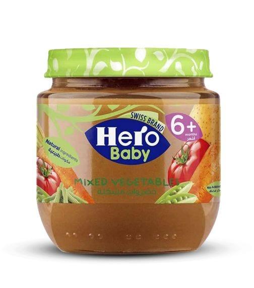 HERO Baby Mixed Vegetables 120 G