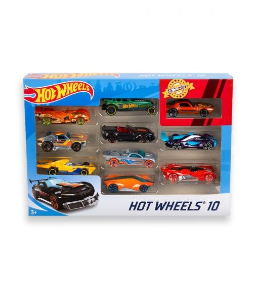 HOT WHEELS Exclusive Decoration 10 Pack Assorted