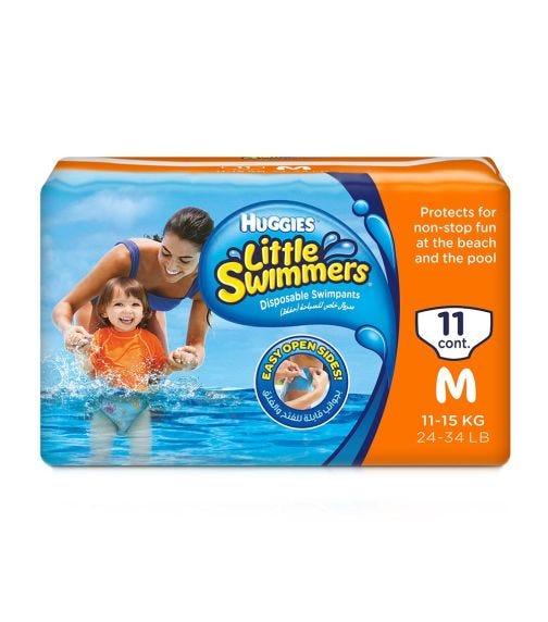 HUGGIES Little Swimmer, Swim Pants Diaper, Medium, 11 Pants
