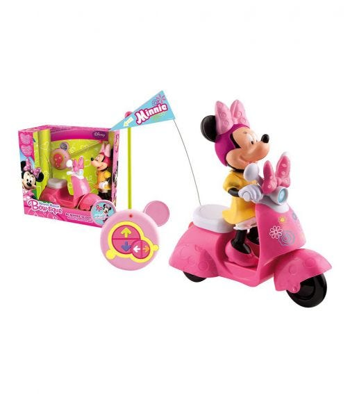 IMC TOYS Minnie RC Scooter