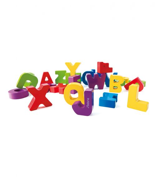 JADORE A To Z Letters