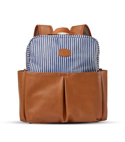 JJ COLE Popperton Backpack Cognac Stripe