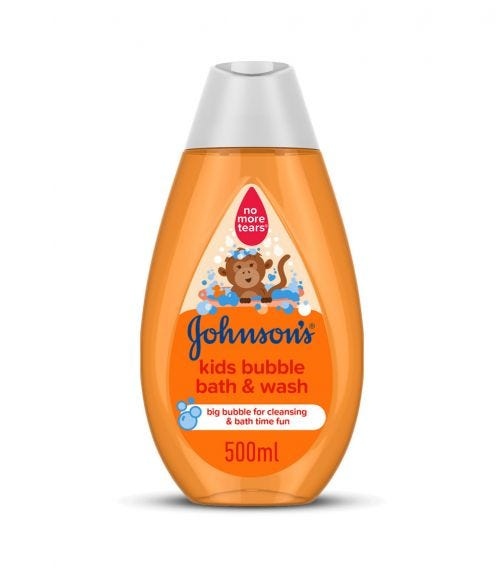 JOHNSONS BABY Johnsons Kids Bubble Bath & Wash, 500 ML