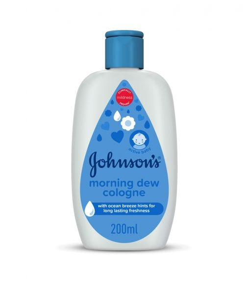 JOHNSONS BABY Cologne, Morning Dew, 200 ML