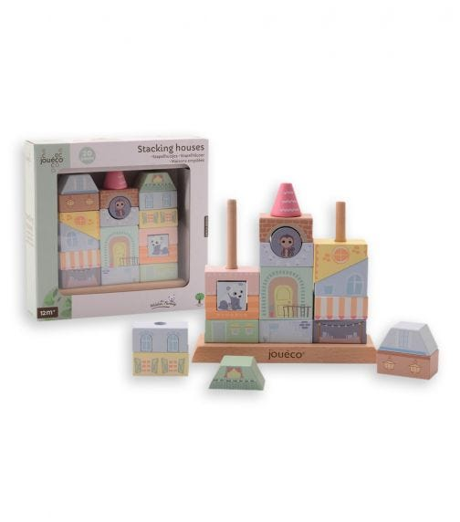 JOUECO The Wildies Family Stacking Houses