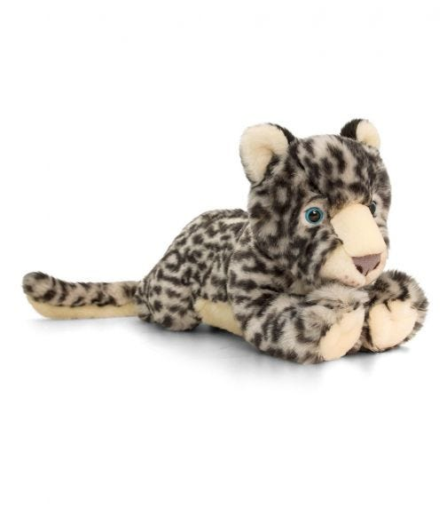 KEEL TOYS UK 33 Snow Leopard