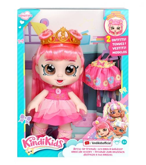 KKS S3 Dress Up Doll Donatina