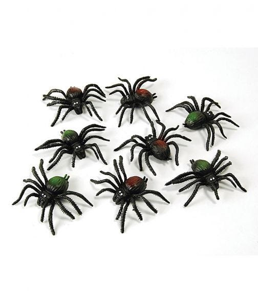 Rubies Scary Creatures - Spiders (8 Pieces)