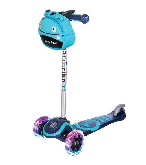 SMARTRIKE T Scooter T3 Blue