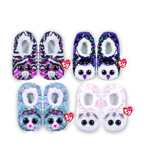 TY Fashion Sequin Slipper Sock Assorted