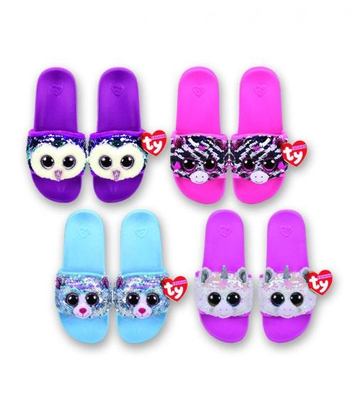 TY Fashion Sequin Slipper Pool Side Assorted