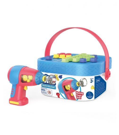 LEARNING RESOURCES Educational Insights Design Drill Boltit Bucket