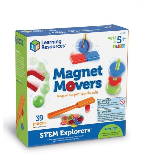 LEARNING RESOURCES Stem Explorers Homeschool Magnet Movers