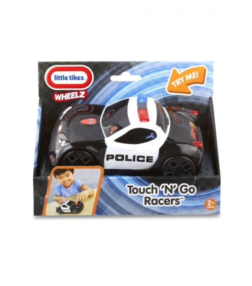 LITTLE TIKES Touch N' Go Racers - Police Car