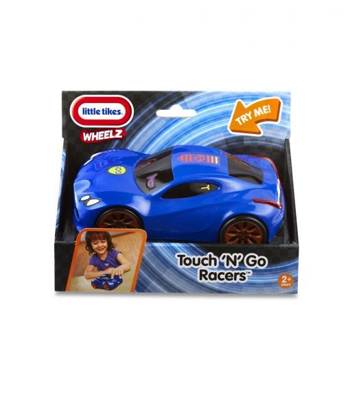 LITTLE TIKES Touch N' Go Racers - Blue Sports Car