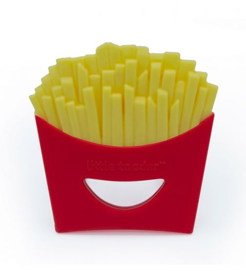 LITTLE TOADER Small Fry Teething Toy - BPA Free