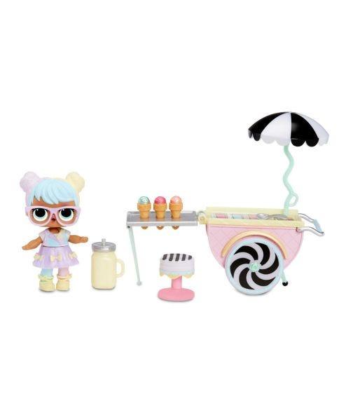 LOL SURPRISE Furniture N Doll Ice Cream Pop Up