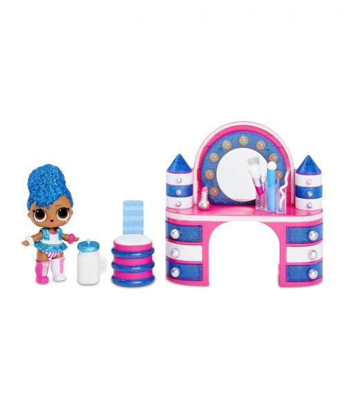 LOL SURPRISE Furniture With Doll Independent Queen