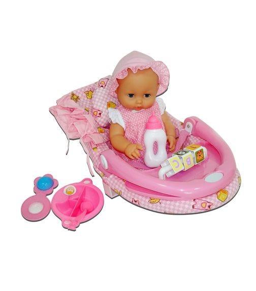 """LOTUS 5 In 1 Set 15""""/38Cm Nursery Baby Doll"""