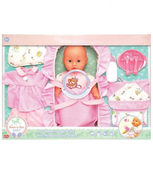 """LOTUS 15""""/38Cm Electronic Soft Bodied Doll"""