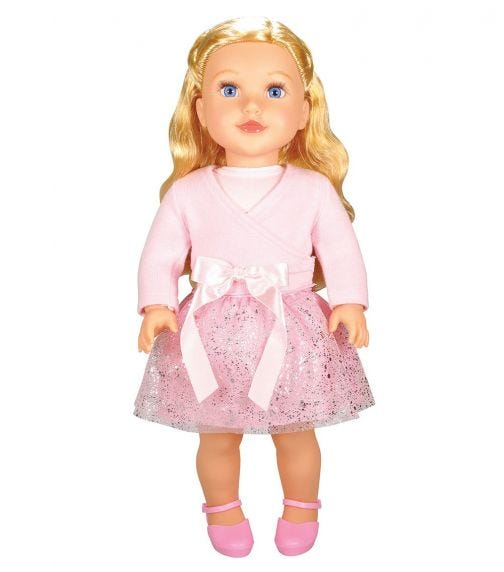 """LOTUS 18""""45Cm Soft Bodied Poseable Girl Doll Danica"""