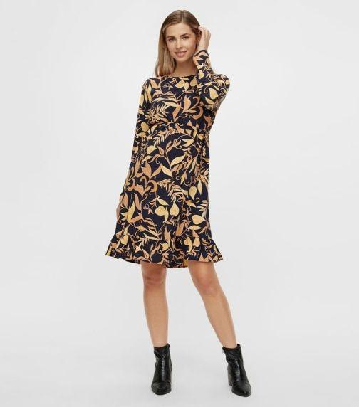 MAMALICIOUS Loire L/S Woven Abk Dress