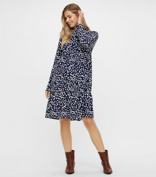MAMALICIOUS Glomma L/S Woven Abk Shirt Dress
