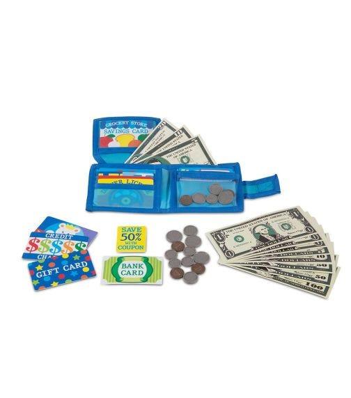MELISSA&DOUG Pretend-To-Spend Wallet
