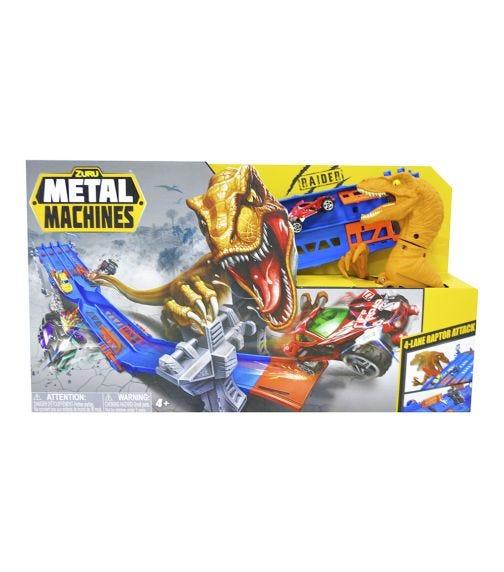 METAL MACHINES Playset Series 1 4 Lane Madness