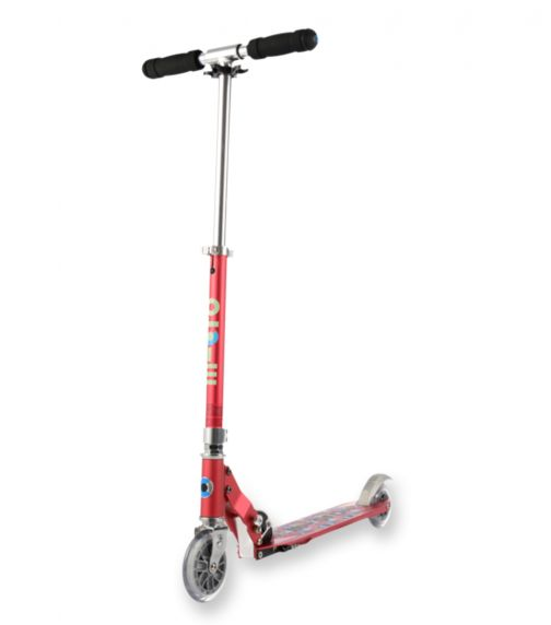 MICRO Sprite Floral Dot Raspberry Special Edition Scooter