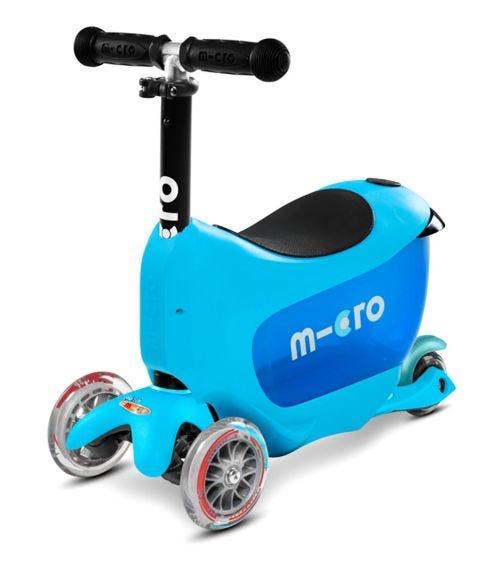 MICRO Mini2Go Deluxe Scooter Blue