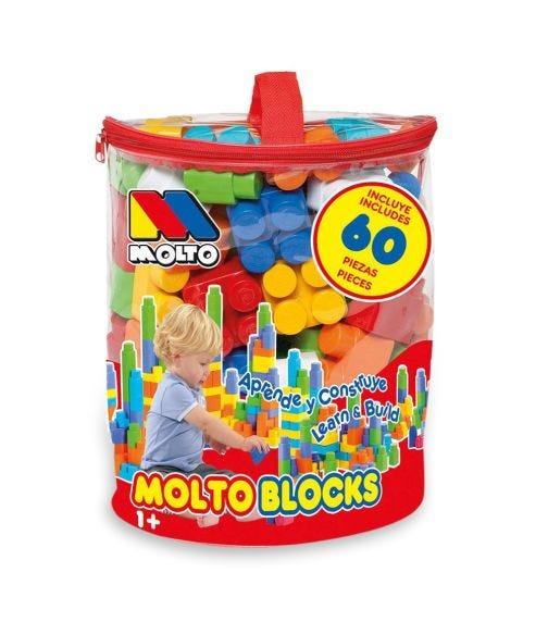 MOLTO Blocks Bag 60 Pieces