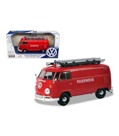 MOTORMAX 1:24 Volkswagen Type 2 T1 Fire Truck
