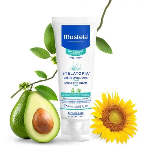 MUSTELA Stelatopia Emollient Cream Face 40 ML
