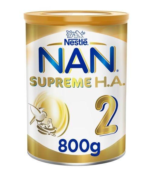 NESTLE Nan Supreme H.A. Stage 2 (6-12 Months) Hypoallergenic Follow-Up Formula - 800 G