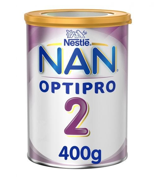 NESTLE Nan Optipro Stage 2 From 6 To 12 Months, 400G