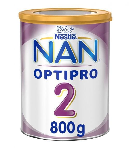 NESTLE Nan Optipro Stage 2 From 6 To 12 Months, 800G