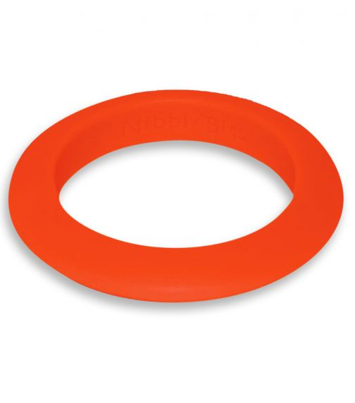 NIBBLY BITS Round Stackable Bangle Orange