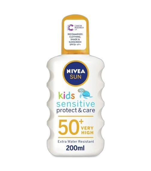 NIVEA Sun Kids Sensitive Spray Spf  50+ 200 ML