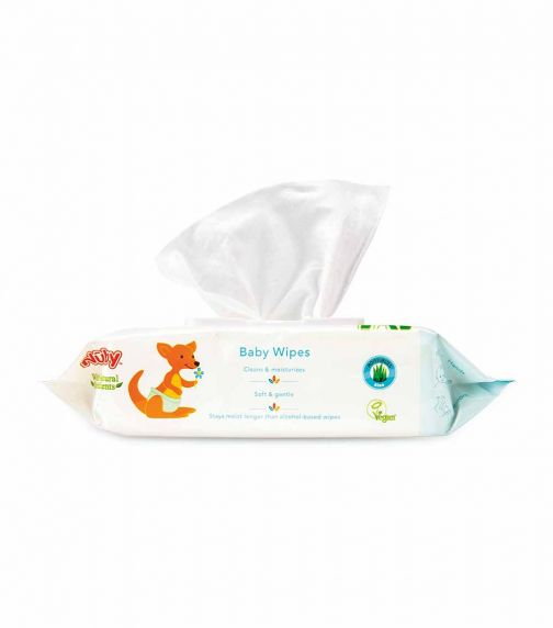 NUBY Baby Wipes From 0 Months And Above 80 Wipes