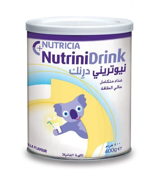 NUTRINI Drink Powder Vanilla Flavor, 400G