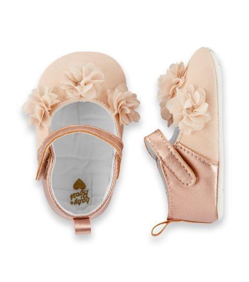 OSHKOSH Ballet Flat Crib Shoes