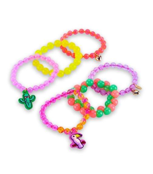 OSHKOSH 6-Pack Beaded Icon Bracelets