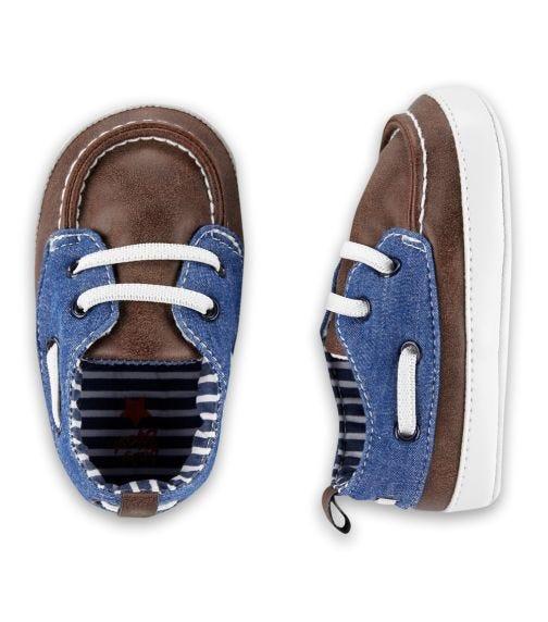 OSHKOSH Boat Shoe Crib Shoes