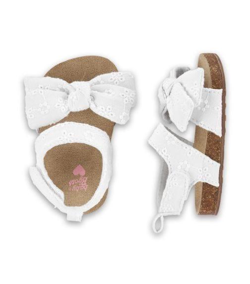 OSHKOSH Eyelet Sandal Crib Shoes