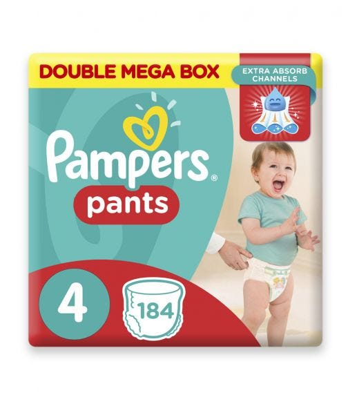 PAMPERS Pants Diapers, Size 4, Maxi