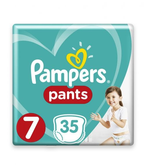 PAMPERS Pants Diapers, Size 7