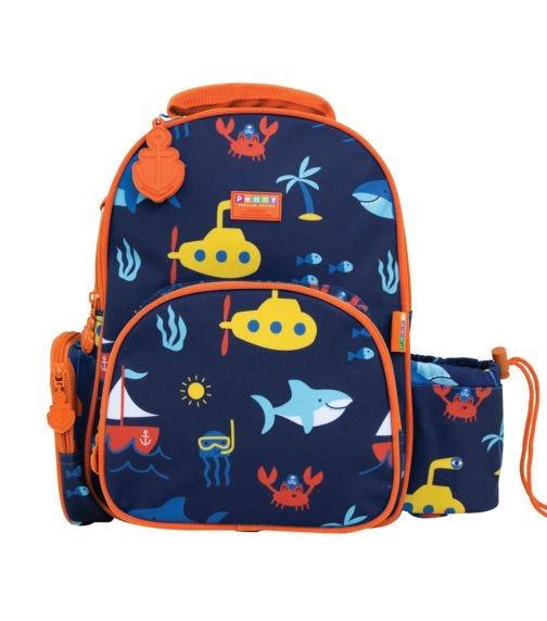 PENNY SCALAN Backpack (Medium) Anchors Away