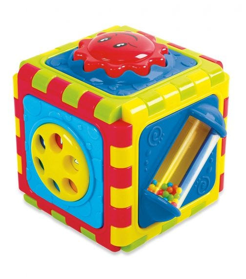 PLAYGO 6 In 1 Activity Cube