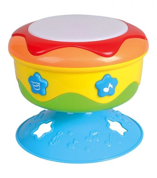 PLAYGO Beat it! Spinning Drum - Battery Operated